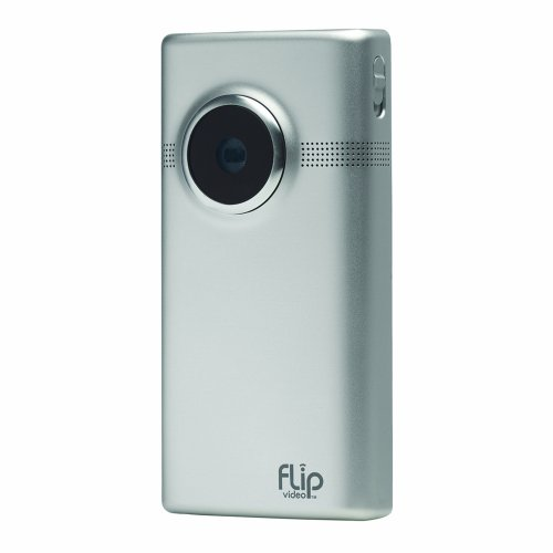 Flip MinoHD Video Camera - Brushed Metal, 8 GB, 2 Hours (2nd Generation) (Discontinued by Manufacturer)