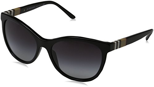 Burberry Women's 0BE4199 Black/Gradient - Burberry Sunglasses