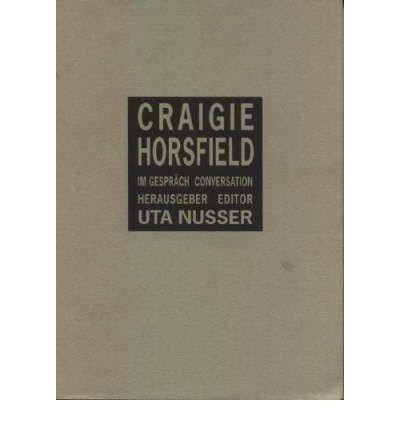 [(Conversation * * )] [Author: Craigie Horsfield] [May-1999]