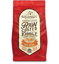 Stella & Chewy's Raw Coated Beef Recipe Dog Food 22lb