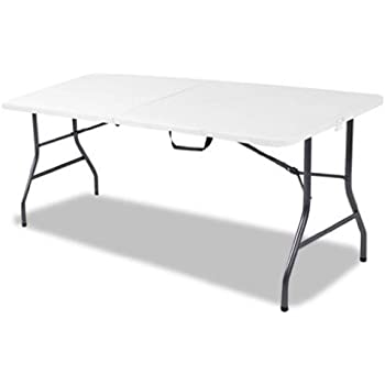 Amazon Com Cosco Products Centerfold Folding Table 6