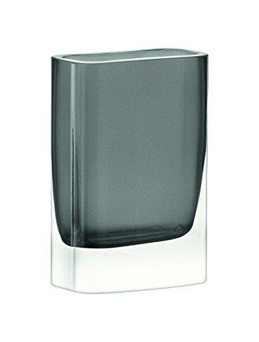 Slate Vase - LSA International G857-15-970 Modular Vase H6 X W4 X D2in Slate Vases - Colour