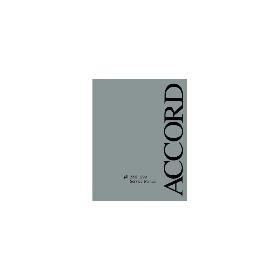 1998 1999 Honda Accord Shop Service Repair Manual Book Engine Drivetrain OEM