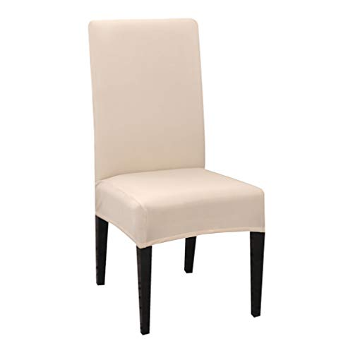 BEOTARU 4pcs Dining Chair Cover Spandex Stretch Elastic Slipcovers Room Banquet Hotel Chair Covers