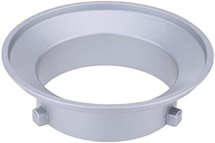 Godox® sa-01-bw 144 mm Durchmesser Befestigungsflansch Ring Adapter für Flash Zubehör Passt für Bowens W/Andoer Reinigungstuch