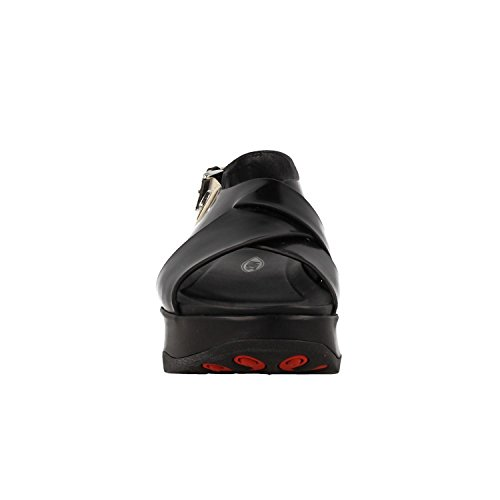 6W 399P Makena Noir Noir Sandale 700769 MBT 7xwI8Eq4p