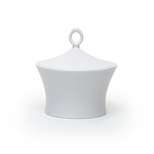 Mikasa Satin Covered Sugar Bowl, White