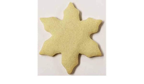 Scott S Cakes Undecorated 3 Pointy Tip Snowflake Sugar Cookies