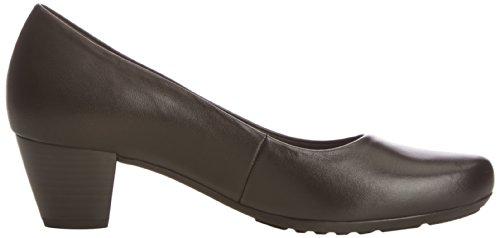 Gabor Pumps Black Schwarz Fashion Leather Damen Comfort Artwq1SA