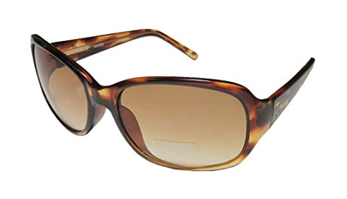 Guess 227 Womens/Ladies Designer Full-rim Gradient Lenses Sunglasses/Eyewear (61-16-125, Transparent - 61 Sunglasses 16 125
