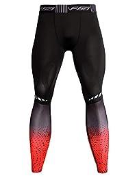 FEOYA Men's Compression Cool Dry Tights Sport Workout Baselayer Running Legging