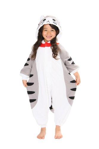 Tabby Cat Kids Kigurumi (5-9 -
