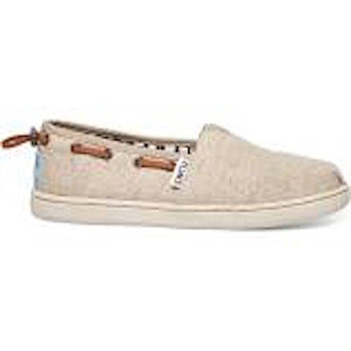 Youth Natural (Toms Kids Bimini Natural Burlap Casual Shoe 6 Kids)