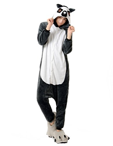 Piece One Party Costumes City (FashionFits Unisex New Jumpsuit Pajama Cosplay Costume One Piece Party Dress)