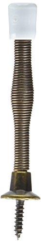 MFG/SPECTRUM BRANDS HHI  830110 Spring Door Stop, 3-Inch, Antique Brass - National N830-110