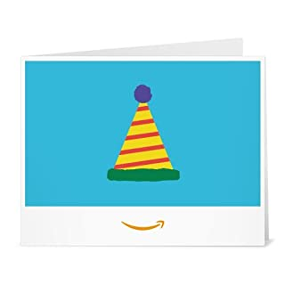 Amazon Gift Card - Print - Birthday Hat (B01LYB3VUB) | Amazon price tracker / tracking, Amazon price history charts, Amazon price watches, Amazon price drop alerts