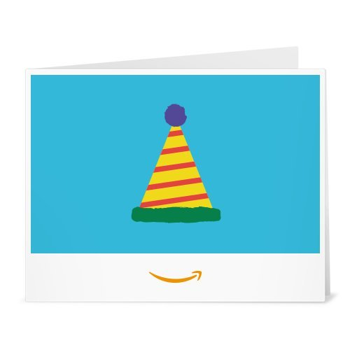 (Amazon Gift Card - Print - Birthday Hat)