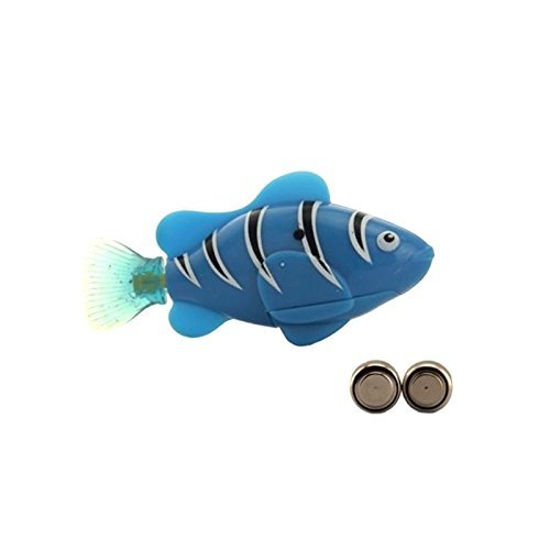 Vinmax magical swimming robot fish activated in for Robot fish toy