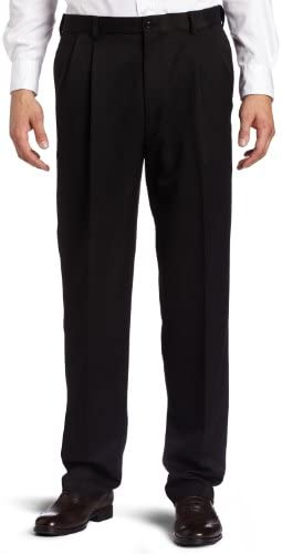 Haggar Mens Hidden Expandable Waist Pleat Front product image