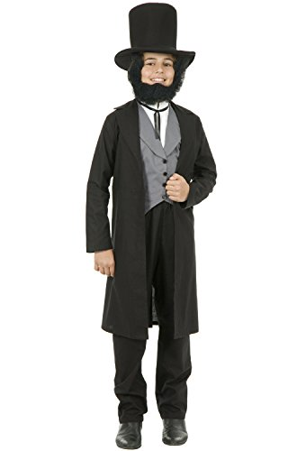 Charades Child's Abe Lincoln Costume, NA, X-Large