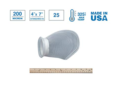 7 200 micron filter sock - 7