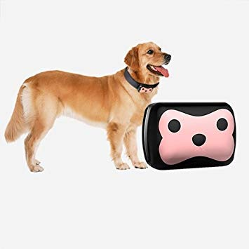 Uniqus D69 GPS+LBS Monitor Tracker Pet GSM Tracking Device with Collar for Dog & Cat, Support Geo-Fence Alarm, Low Battery Alarm, Voice Monitor, Remote Calling, History Trace