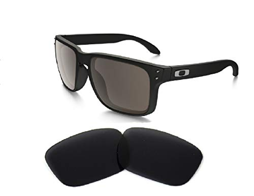 Galaxy Replacement lenses For Oakley Holbrook Polarized Black 100% UVAB (Lenses Holbrook Replacement)