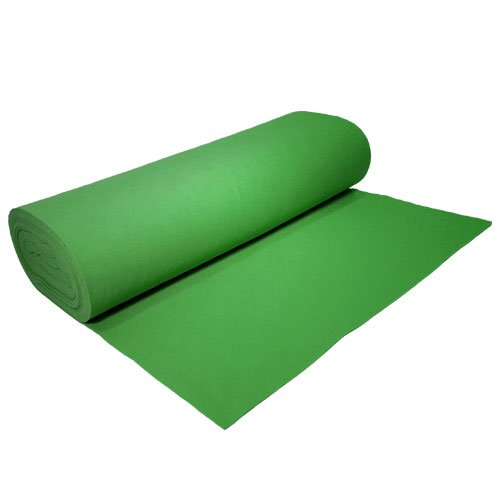 Acrylic Felt by the Yard 72'' Wide X 2 YD Long: Emerald Green by The Felt Store