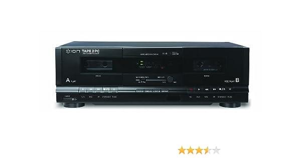 ION Audio TAPE 2 PC Plata reproductor multimedia y grabador de sonido: Amazon.es: Electrónica