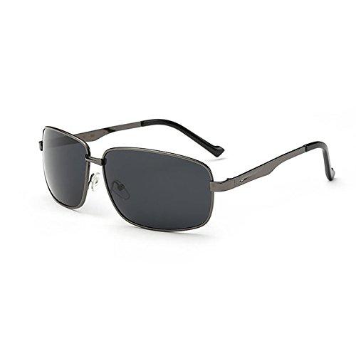 Nocturna Sol De De Hombres Del De Polarizadas De Gafas Los UV400 Gafas Visión De Gungrayboxgray Metal La La Sun Pesca P58xqgdwn