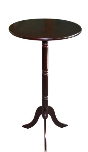 Frenchi Home Furnishing Round End Table - Table Cherry End International Ore