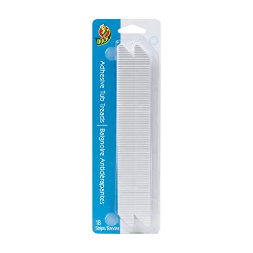 (Duck Brand 663138 Adhesive Tub Tread Strips, .75 x 8.5-Inch Each, 18)