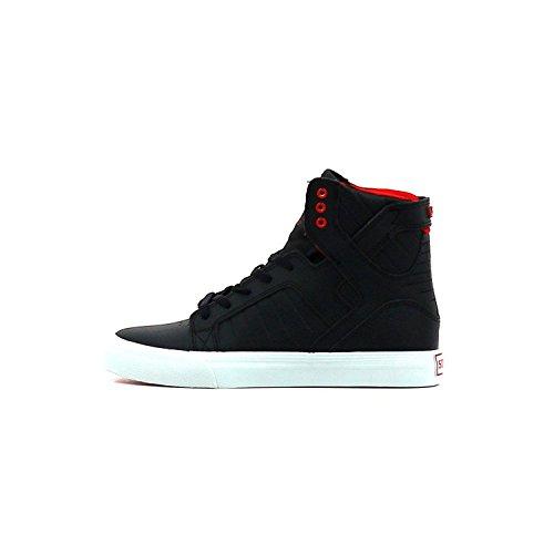 Supra Skytop S18120 Herren Sneaker Black/Red/White