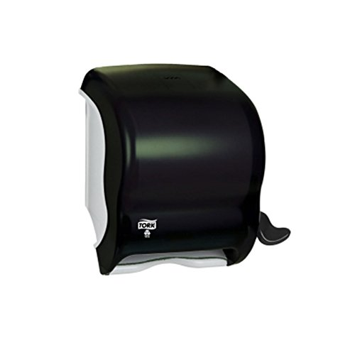 Tork 83TR Lever-Operated Roll Towel Dispenser, Smoke