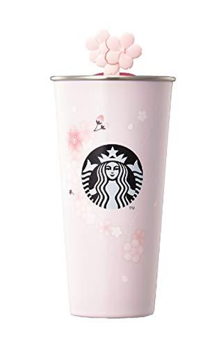 해외 한정 스타벅스 사쿠라 스테인레스 텀블러 스타벅스 Starbucks Cherry Blossom SS DW Togo Tumbler 473ml   (Cherry Blossom)