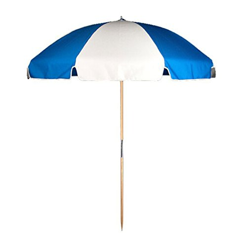 UPC 716350578013, 7.5 ft.Steel Commercial Grade Beach Umbrella with Ash Wood Pole & Carry Bag