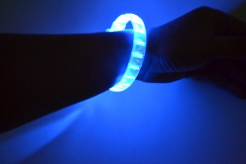 Blau Fashion LED Light Up Bracelet by Fashion Bracelet