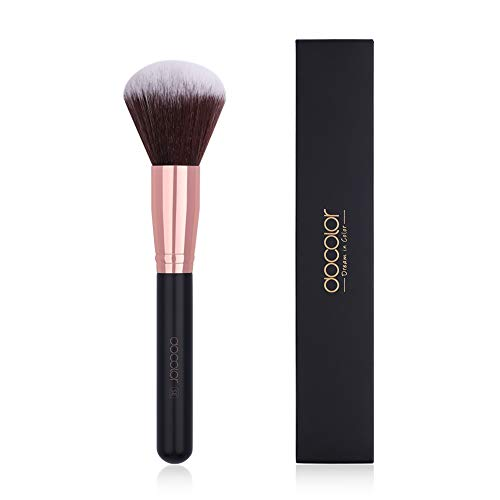 Docolor Makeup Brushes Large Powder Brush Synthetic Face Liquid Large Coverage Mineral Makeup Tools