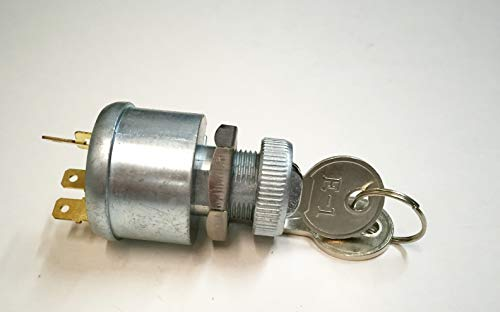 A.A EZGO Ignition Key Switch (81+) Gas/Electric Golf Cart (with Lights) 4-Prong - 33639G01