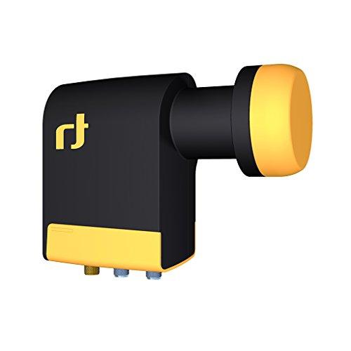 Inverto IDLB-QUDL42-UNI2L-1PP Unicable Quad-LNB, 40mm, 2 Legacy, 1 Splitter