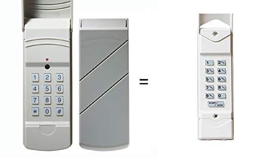 Compatible Keypad for Linear DTKP DNT00062 Compatible 310 MHz Wireless Keyless Entry -