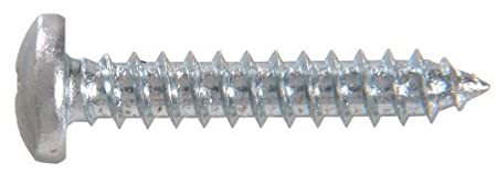 100-Pack 76615 The Hillman Group 70805 6-Inch x 1-1//4-Inch Pan Head Square Drive Sheet Metal Screw