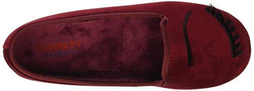 Florett Women's Zwinki Low-Top Slippers Red - Rot (Rot 01) p8NoC