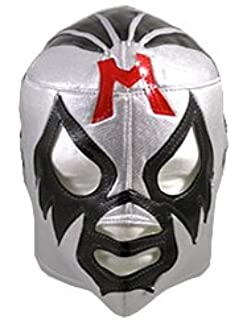 MIL MASCARAS Lucha Libre Wrestling Mask (pro-fit) Costume Wear - Silver