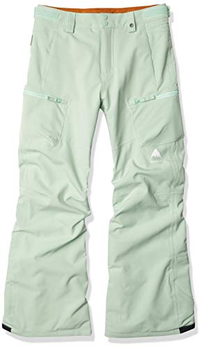 Burton Girls Elite Cargo Pant, Faded Jade, X-Large