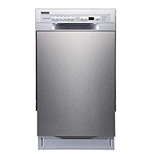 Best Epic Trends 31DGgCc1sLL._SS300_ EdgeStar BIDW1802SS 18 Inch Wide 8 Place Setting Energy Star Rated Built-In Dishwasher