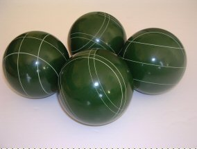 Premium Quality EPCO 4 Ball Set with green bocce balls [Misc.] by Epco