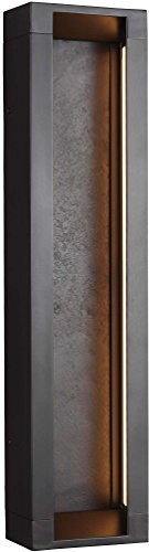 Murray Feiss Fans - Feiss OL11602ORB-LED Mattix LED Outdoor Patio Lighting Wall Lantern, Bronze, 2-Light (6