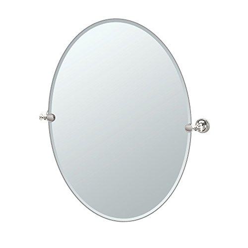 Gatco 4129LG Tavern Large Oval Mirror, Polished -