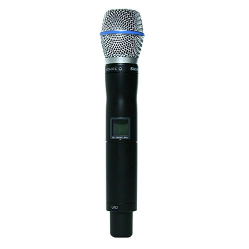 (Shure UR2/BETA87A UHF-R Wireless Handheld Transmitter with Beta 87A Microphone